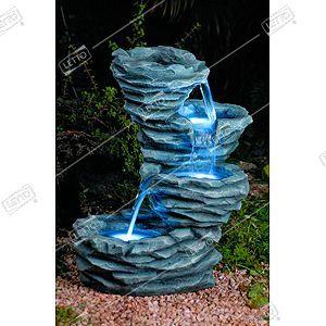 Фонтан садовый декоративный Водопад 48*30.5*55.5см — цена в LETTO